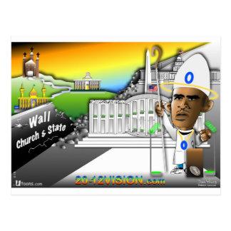 Obama Church Postcard