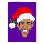 Obama Claus Card