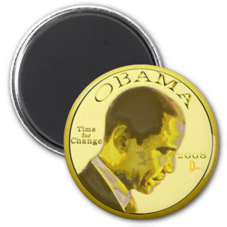 OBAMA coin Magnet