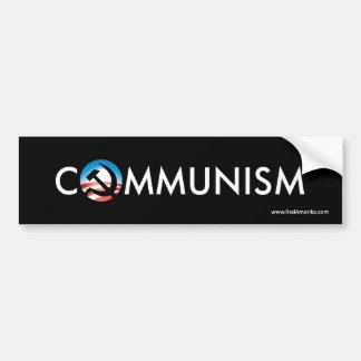 Obama Communism Hope Hammer Sticker Bumper Sticker