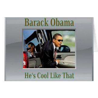 Obama Cool Like That Greeting Card
