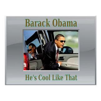 Obama Cool Like That Postcard