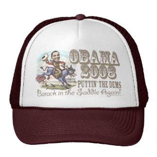Obama Cowboy 2008 Trucker Hat