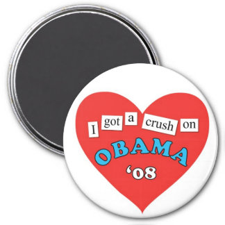 Obama Crush Magnet