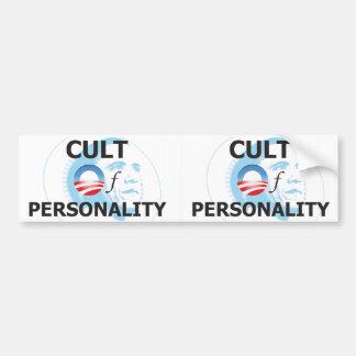Obama Cult of Personality Bumper Sticker