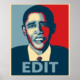 Obama Custom Poster