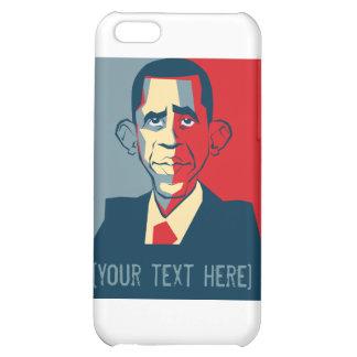 Obama custom text design iPhone 5C covers
