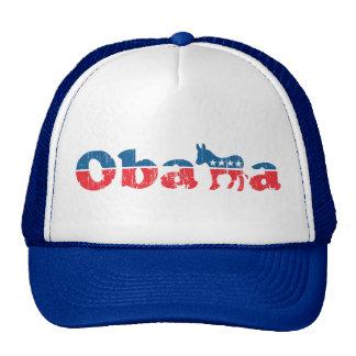 Obama Democrat Trucker Trucker Hats