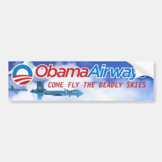 Obama Drone Parody Bumper Sticker
