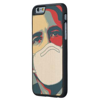 OBAMA EBOLA MASK CARVED® MAPLE iPhone 6 CASE