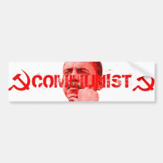 Obama est un communiste autocollant de voiture