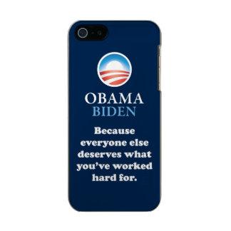 OBAMA EVERYONE ELSE INCIPIO FEATHER® SHINE iPhone 5 CASE