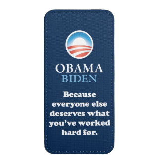 OBAMA EVERYONE ELSE iPhone POUCH