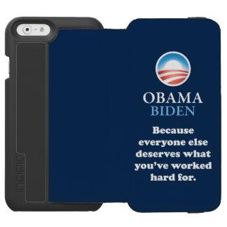 OBAMA EVERYONE ELSE INCIPIO WATSON™ iPhone 6 WALLET CASE
