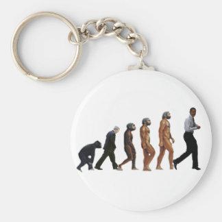 Obama Evolution Keychain