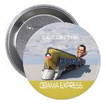 Obama Express Train Pins