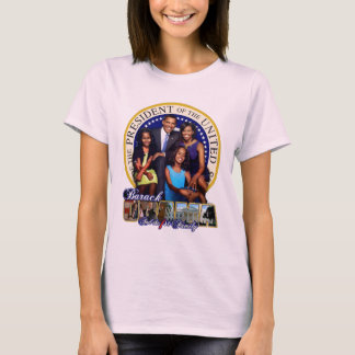 Obama Family 2008 (Baby Doll T) T-Shirt