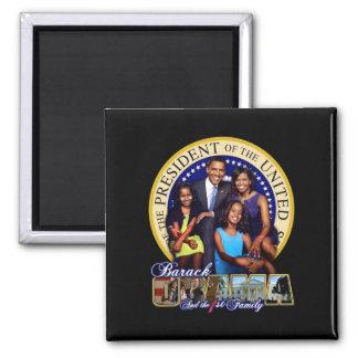 Obama family magnet