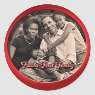 Obama Family Stickers