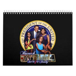 Obama First Family 2009 Calendar