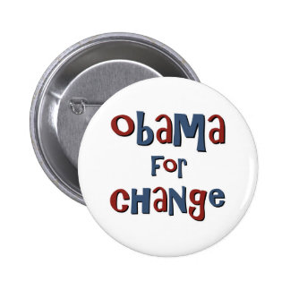 Obama for Change 2 Inch Round Button