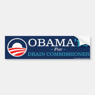 Obama for Drain Commissioner Bumper Sticker