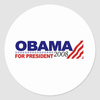 Obama For President 2008 Stickers