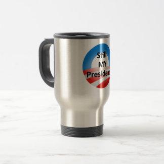 Obama Forever Never Trump Travel Coffee Cup Mug