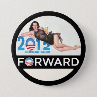 Obama Forward 2012 3 Inch Round Button