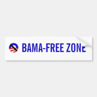obama-free zone bumper sticker