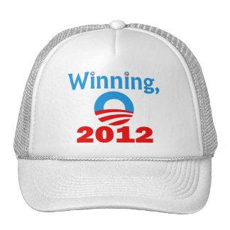 Obama gagnant, 2012 casquettes de camionneur
