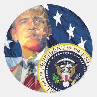 Obama Gifts 3 Round Sticker