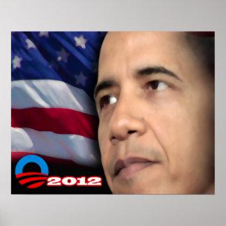 Obama Glare Poster