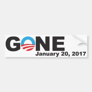 Obama Gone, 2017 Bumper Sticker