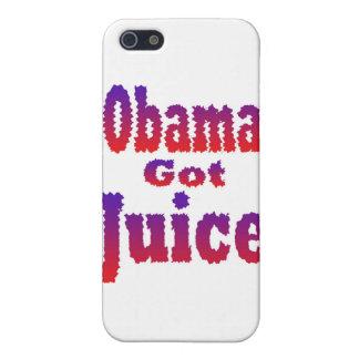 Obama Got Juice Red White Blue iPhone 5 Case
