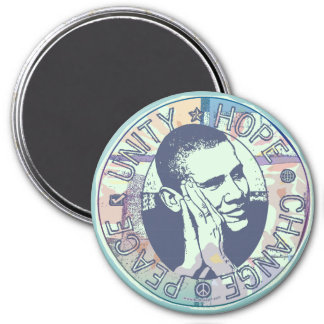 obama Groovy Dream Magnet