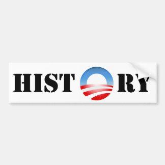 Obama History Bumper Sticker