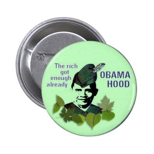Obama Hood Button