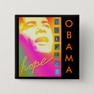 Obama hope believe Button