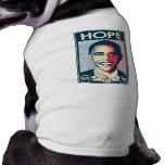 OBAMA HOPE DOG CLOTHES
