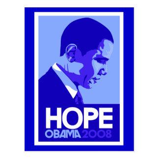 Obama Hope Postcard