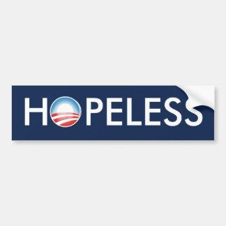 Obama HOPELESS Bumper Sticker