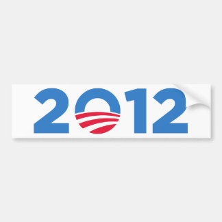 Obama in 2012 bumper sticker