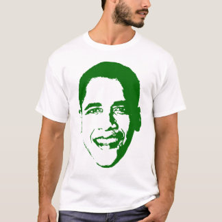 Obama in Green. T-Shirt