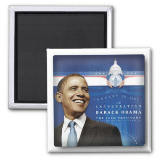 Obama inauguaral Fridge magnet