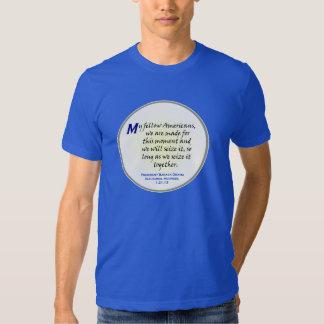 Obama Inaugural Address excerpt T-Shirt