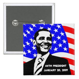 Obama Inauguration 2009 Memorabilia 2 Inch Square Button