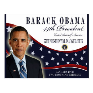 Obama Inauguration 2013 Commemorative Post Cards