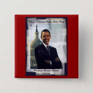 Obama Inauguration Day 2009 Souvenir Button