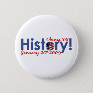 Obama Inauguration Day 2 Inch Round Button